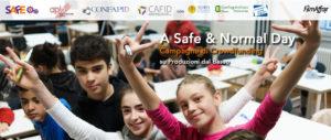 A safe & normal day: non profit e profit insieme per l'educazione contro la violenza di genere