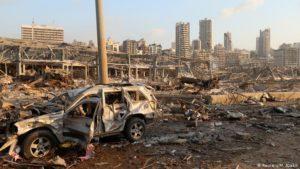 Dos grandes explosiones dejan muertos y heridos en Beirut