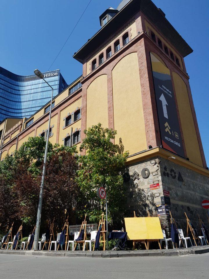 Bomonti Bira Fabrikası'ndaki Projeye Sanatla Tepki