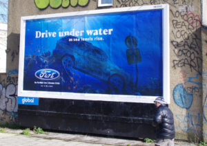 Ομάδα Brandalism: billboards με σενάρια του μέλλοντος