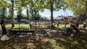 Carovane migranti: la penultima tappa al CPR di Torino