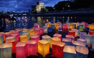 Ceremonia en Hiroshima por el 75 aniversario del bombardeo nuclear