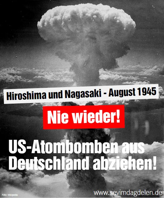 Hiroshima-Jahrestag: Konkrete Abrüstung statt leerer Bekenntnisse