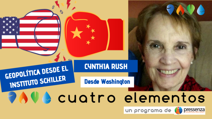 Cynthia Rush «tener relaciones amistosas con China y Rusia es inaceptable para Londres y Wall Street»