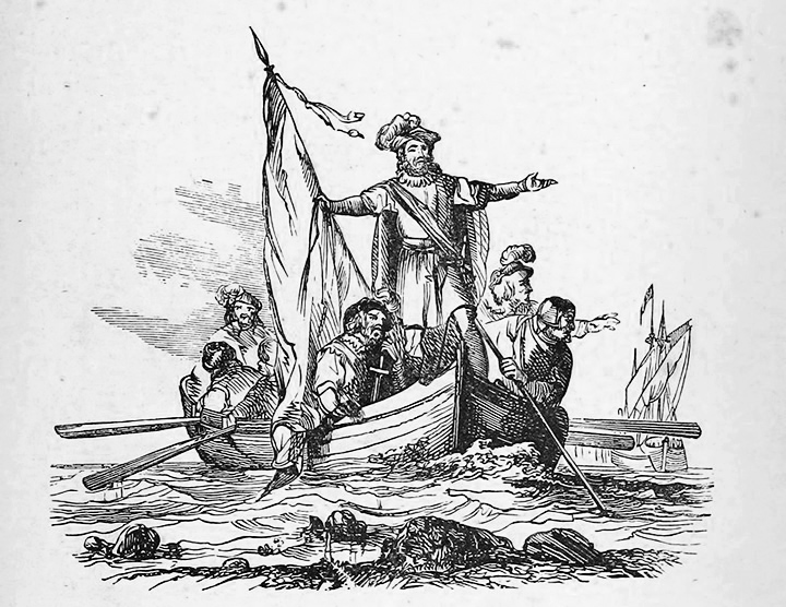 La llegada de los europeos