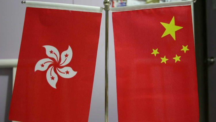 banderas Hong Kong y China Commons.wikimedia.org