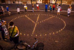 Mai più Hiroshima e Nagasaki – commemorazione per il 75 anniversario in piazza Carignano a Torino