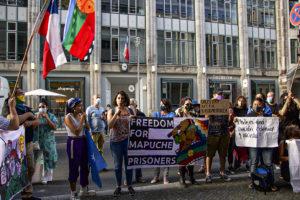 Berlin, Apoyo al Pueblo Mapuche Frente al Consulado de Chile