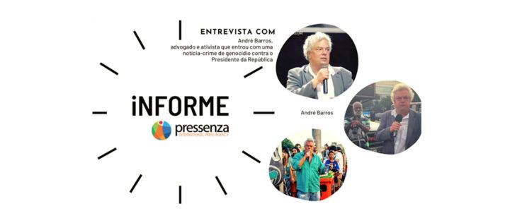 informePressenza   Notícia-crime de genocídio contra Bolsonaro