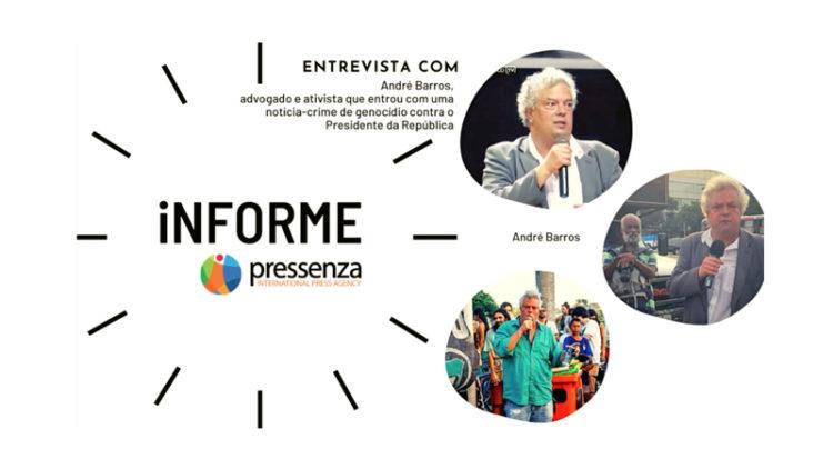 informePressenza | Notícia-crime de genocídio contra Bolsonaro
