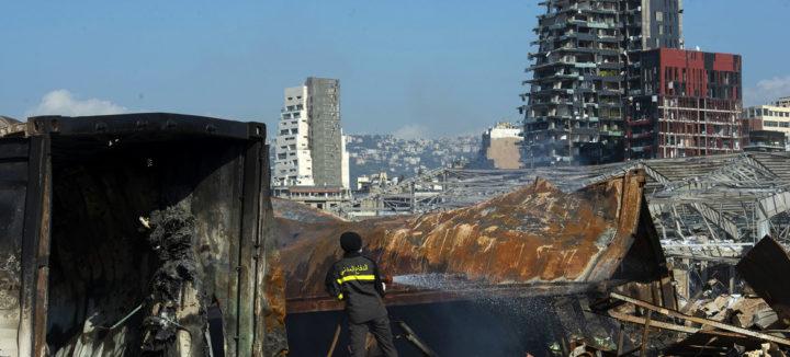 Zusammenbruch des modernen libanesischen Staatsgebildes