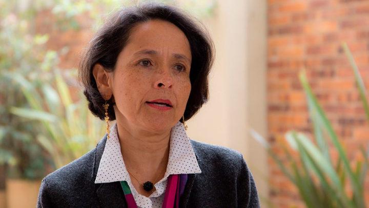 """""""Los desaparecidos no son solamente de las familias, los desaparecidos son de esta sociedad"""": Luz Marina Monzón"""