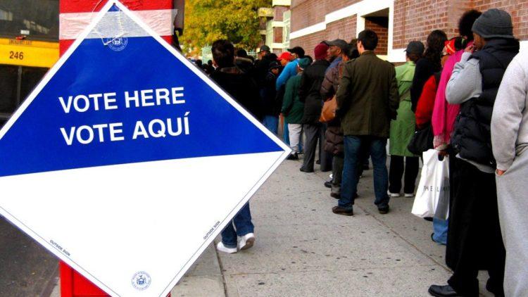 fila para votar - howiehawkins.us