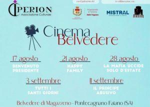 Pontecagnano, il cinema è sul Belvedere