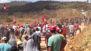 MG: Despejo de 450 famílias do acampamento Quilombo Campo Grande