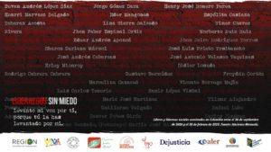 Liderazgos sin Miedo: campaña por la vida de los y las líderes sociales en Colombia
