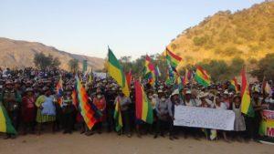 La situación dramática de Bolivia, Evo advierte de otra masacre