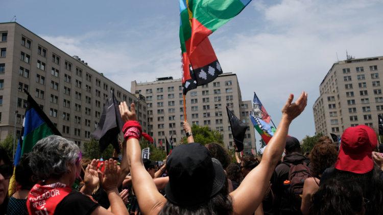 bandera mapuche - Claudia Aranda