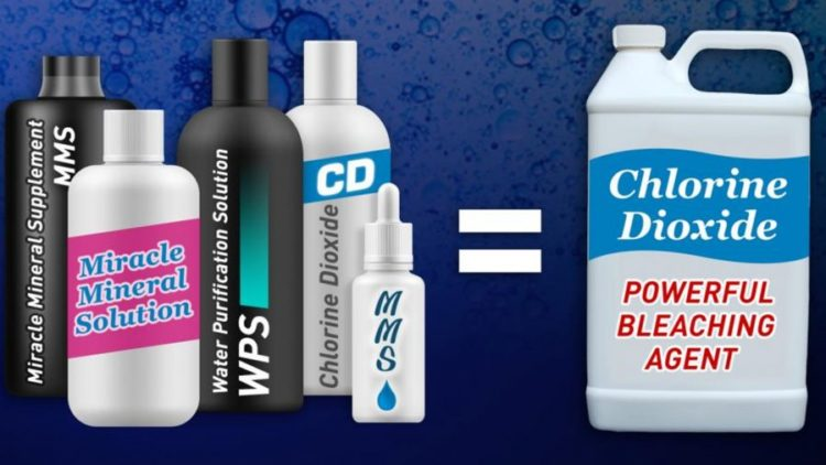 Taking bleach-related products for covid-19 can kill you