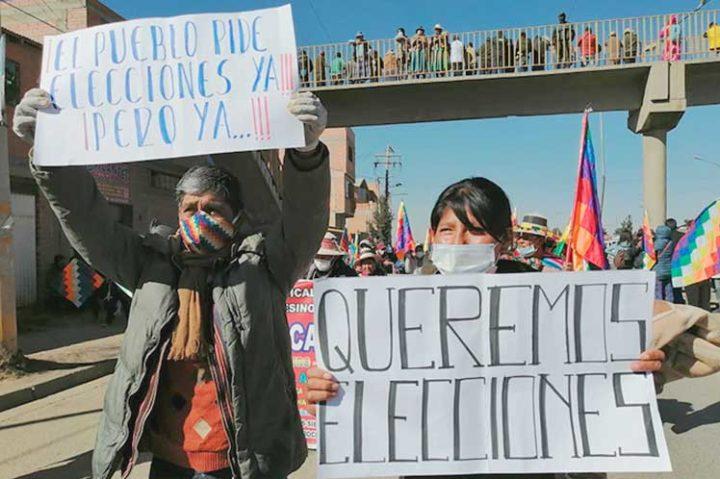 Η Βολιβία στα πρόθυρα μιας κοινωνικής εξέγερσης