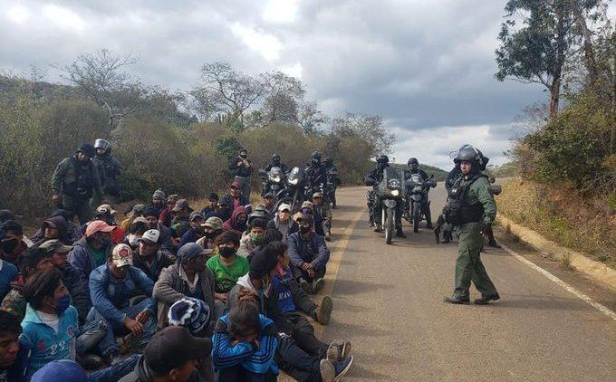 La guerre médiatique et psychologique contre les blocus en Bolivie