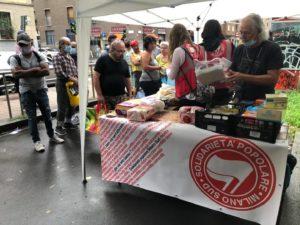 Solidarietà popolare a Milano sud