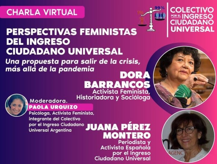 Perspectivas feministas del ingreso ciudadano universal