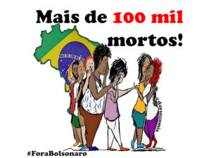 Coalición Negra presenta en Brasilia pedido de Impeachment contra Bolsonaro