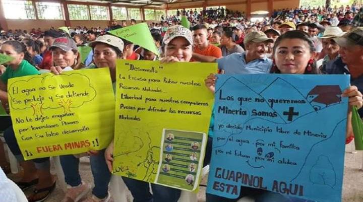 Indígenas y afrodescendientes en confinamiento: carta blanca a proyectos extractivos en Honduras
