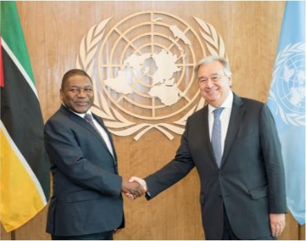 Mozambique firma Tratado de Naciones Unidas para la prohibición de armas nucleares