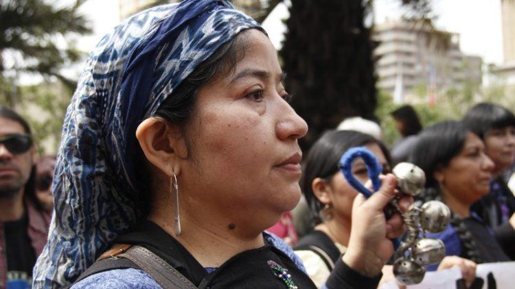 mujer mapuche - Dalia Chiú S.
