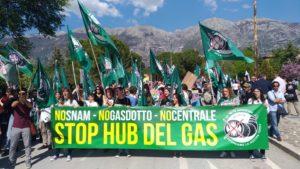 Parte la Carovana No Hub del Gas 2020
