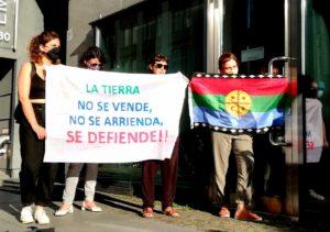 Video zum Appell zur Unterstützung für das Volk der Mapuche vor dem chilenischen Konsulat Berlin