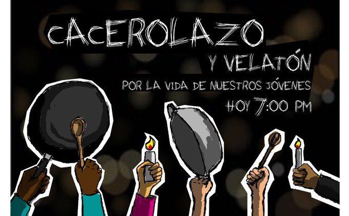 Velaton por la vida en Colombia
