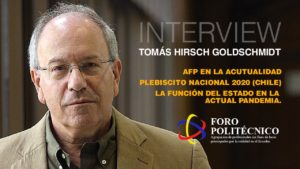 «La diversidad contribuye a lograr los mejores resultados», entrevista a Tomás Hirsch