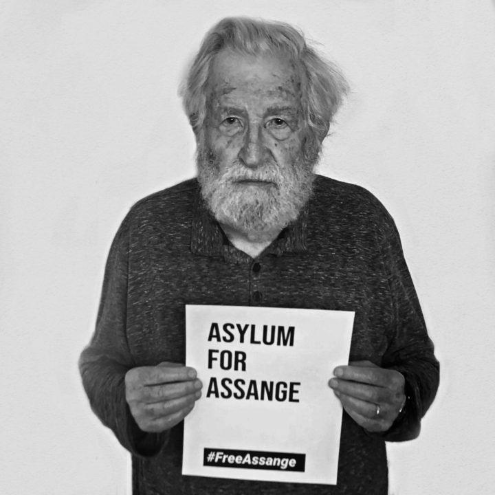 [#FreeAssange] #WeAreMillions: Campanha fotográfica
