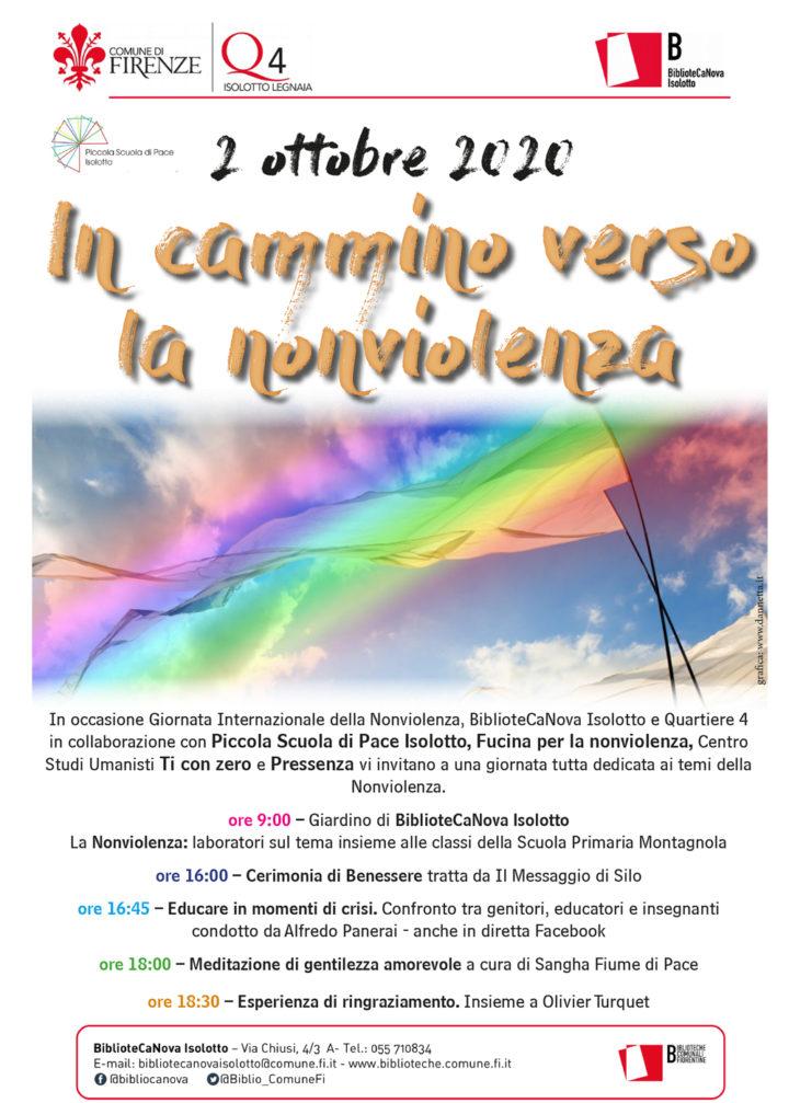 Firenze: all'Isolotto si celebra la Giornata Internazionale della Nonviolenza