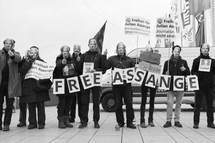 Hamburg4Assange organisiert Demonstration für Julian Assange