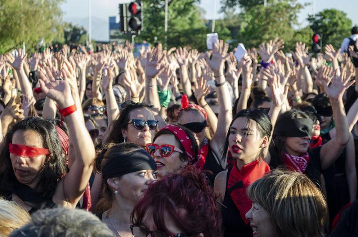 Colectivo feminista Las Tesis entre las más influyentes del año