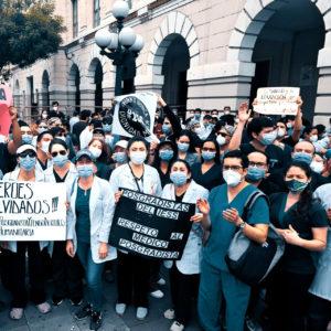 En Équateur, les doctorants revendiquent leurs droits