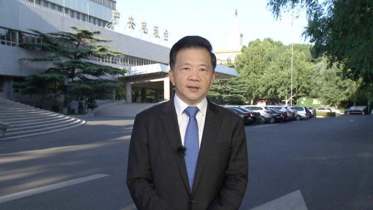 Shen Haixiong, presidente y editor en jefe de CMG. - CGTN