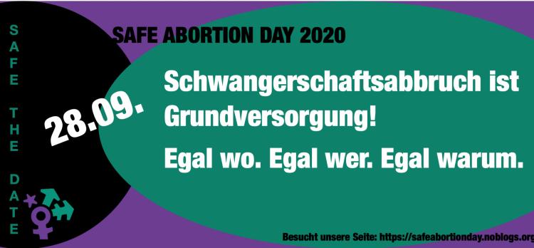 Berlin feiert den internationalen Safe Abortion Day