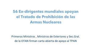 Carta abierta de apoyo al TPAN