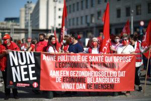 Bruxelles : Tous dans la rue pour le refinancement de la Santé !