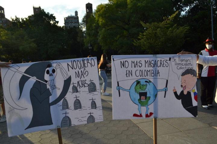 Wir wollen Frieden in Kolumbien