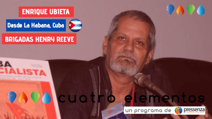 """Enrique Ubieta: """"Le brigate mediche cubane hanno mostrato che si può fare molto se c'è volontà politica"""""""