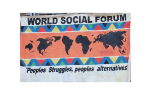 Para um novo fórum social mundial