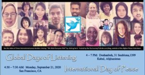 Global Days of Listening and Innovation in Education 2020