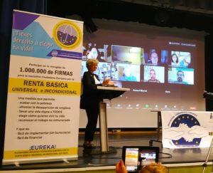 Actos de comienzo de la Iniciativa Ciudadana Europea por una renta básica incondicional