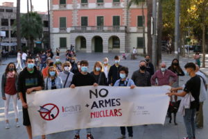 Dia Internacional per a l'eliminació de les armes nuclears a Castelldefels